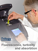 Trilogy - Fluorescence, turbidity and absorbtion